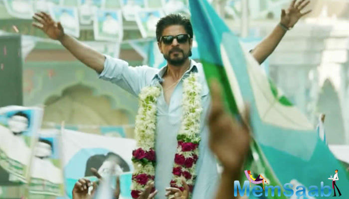 Raees traces SRK's character's journey from that of a bootlegger to a political leader.The film also casts Nawazuddin Siddiqui as a police officer and Pakistani actress Mahira Khan, who will arrive at her first appearance in Bollywood with Raees.