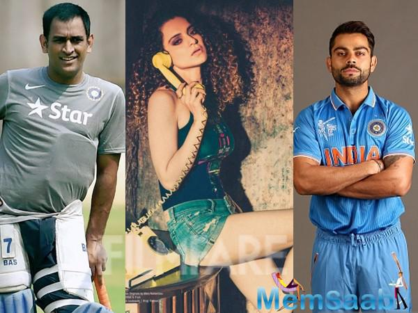 As per the story, the makers of an upcoming television advertisement have managed to rope in Kangana Ranaut, MS Dhoni and Virat Kohli for the project.