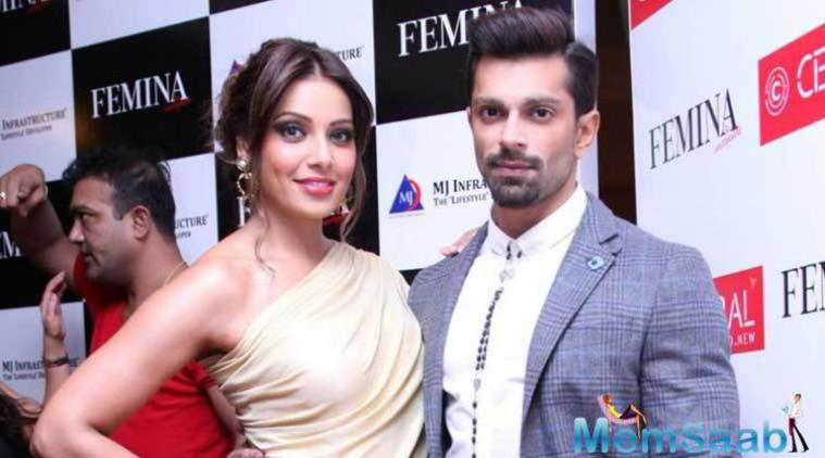 Bipasha Basu and Karan Singh Grover have so far kept mum about their impending marriage, but Priyanka just let the cat of the bag.