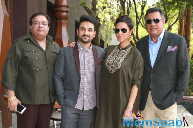 Santa Banta Pvt. Ltd.'  also stars Neha Dhupia and Vir Das. Boman playing Santa and Vir is Banta. The film is based on two detectives who are sent on a mission to solve a crime.