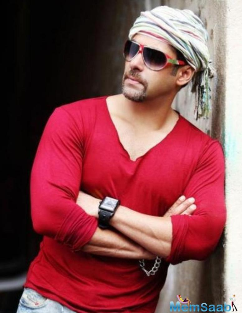 These days Salman Busy with Sultan, and has two flicks in the pipeline to charge after completing Sultan.