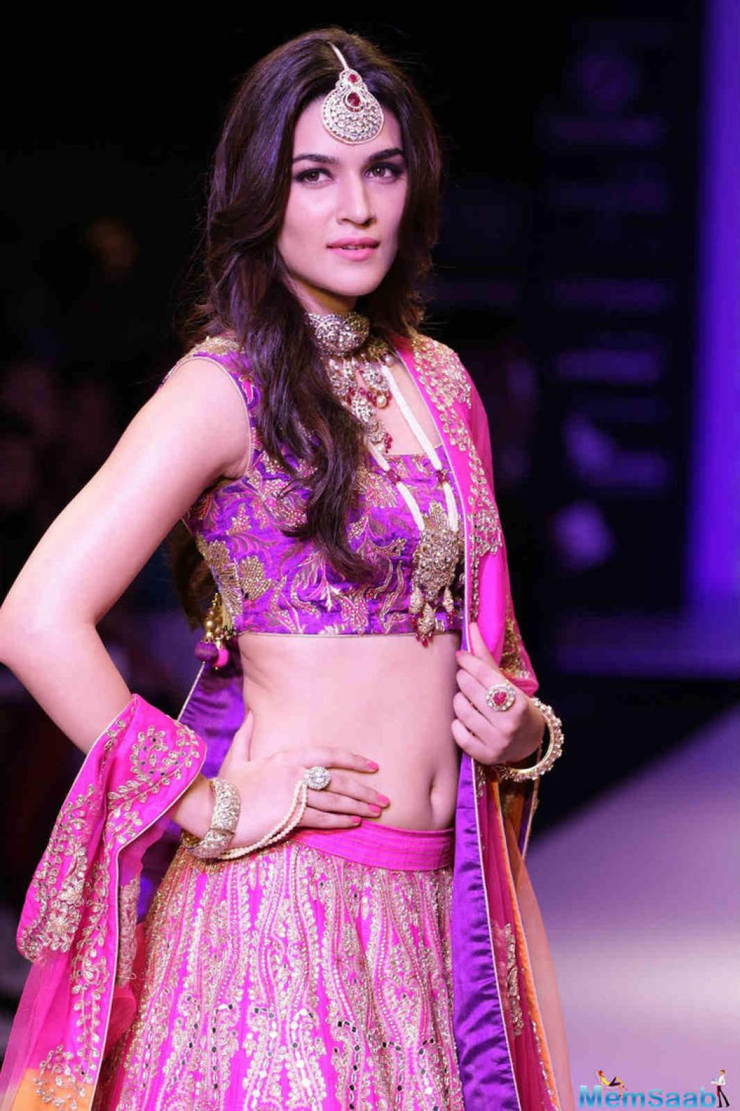 Kriti Sanon, who is presently busy filming for the film Raabta, when Asked what got her sign on the dotted line for the movie, she said: 'The script!! Loved it instantly!'