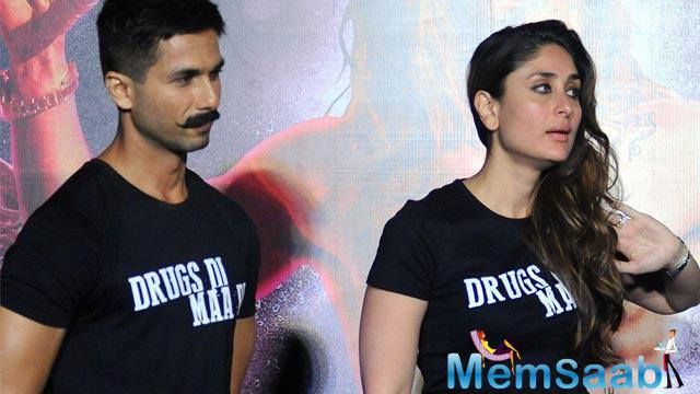 Shahid doesn't think about whether he will ever again share screen space with his former girlfriend Kareena. However, he says he is receptive to the idea and that it will be neat if it comes about.