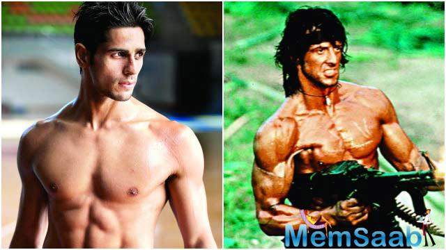 But the actor Sidharth Malhotra said that the Hindi remake of the Hollywood action film Rambo has not been confirmed yet.