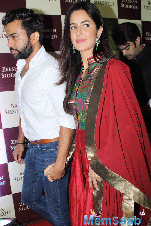 Katrina Kaif during the Baba Siddique's Iftar Party