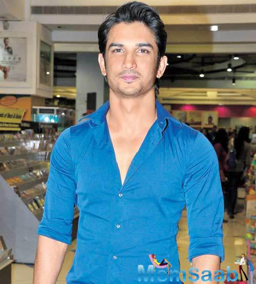 Sushant recently wrapped up shooting for M.S Dhoni biopic opposite Kiara Advani. He is also gearing up for the release of 'Raabta' which also features Kriti Sanon.
