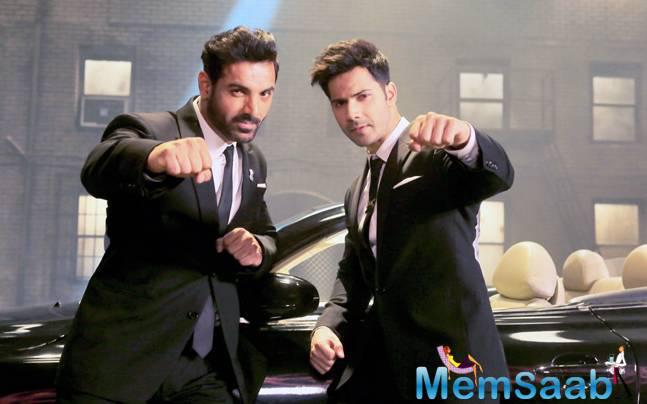 """Dhisoom stars left no stone unturned to promote the film but look like Pakistan is not really happy .Varun said . There is no negative reference against Pakistan or any community."""" He explained, """"It is a very positive representation."""