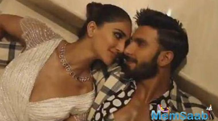 This magazine cover gives a glimpse of their soaring chemistry in Befikre. Both Ranveer and Vani look comfortable in each other's company.