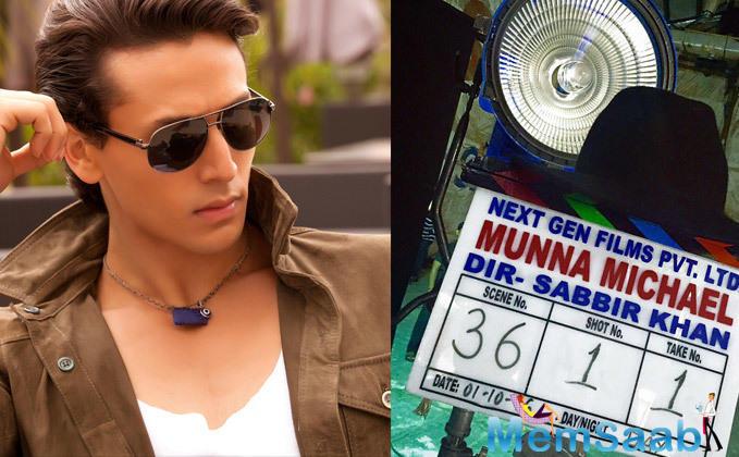 This film will mark Tiger and Sabbir's third collaboration together, after Heropanti and Baaghi. 'Munna Michael' starring Tiger Shroff, Nawazuddin Siddiqui, and debutant Nidhi Agarwal
