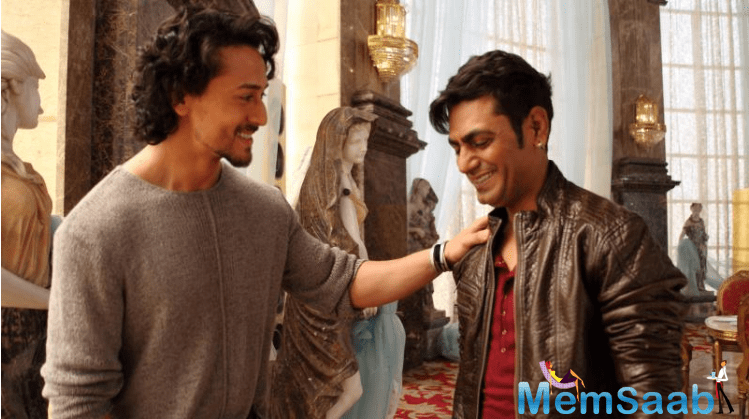 Tiger Shroff and Nawazuddin, who are soon to share screen space in Eros International & Viki Rajani's 'Munna Michael'. To match Tiger's moves, Nawazuddin is taking training.