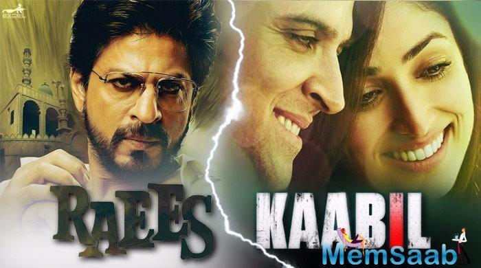 Hrithik Roshan's Kaabil, which had a mid-week release and clashed with Shah Rukh Khan's Raees on Wednesday, made a little short of Rs 40 crores, tweeted trade analyst Taran Adarsh.