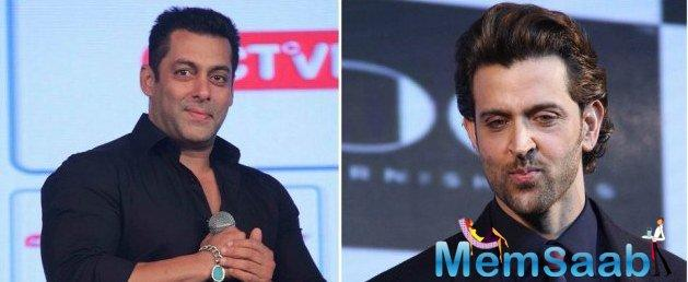 There were reports that Hrithik Roshan might replace Salman in the sequel.
