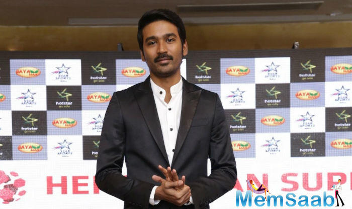 """Talking about the movie, actor Dhanush says, """"So glad to be a component of this film with partner in crimes from 3 continents, looking ahead to an extraordinary journey ahead""""."""