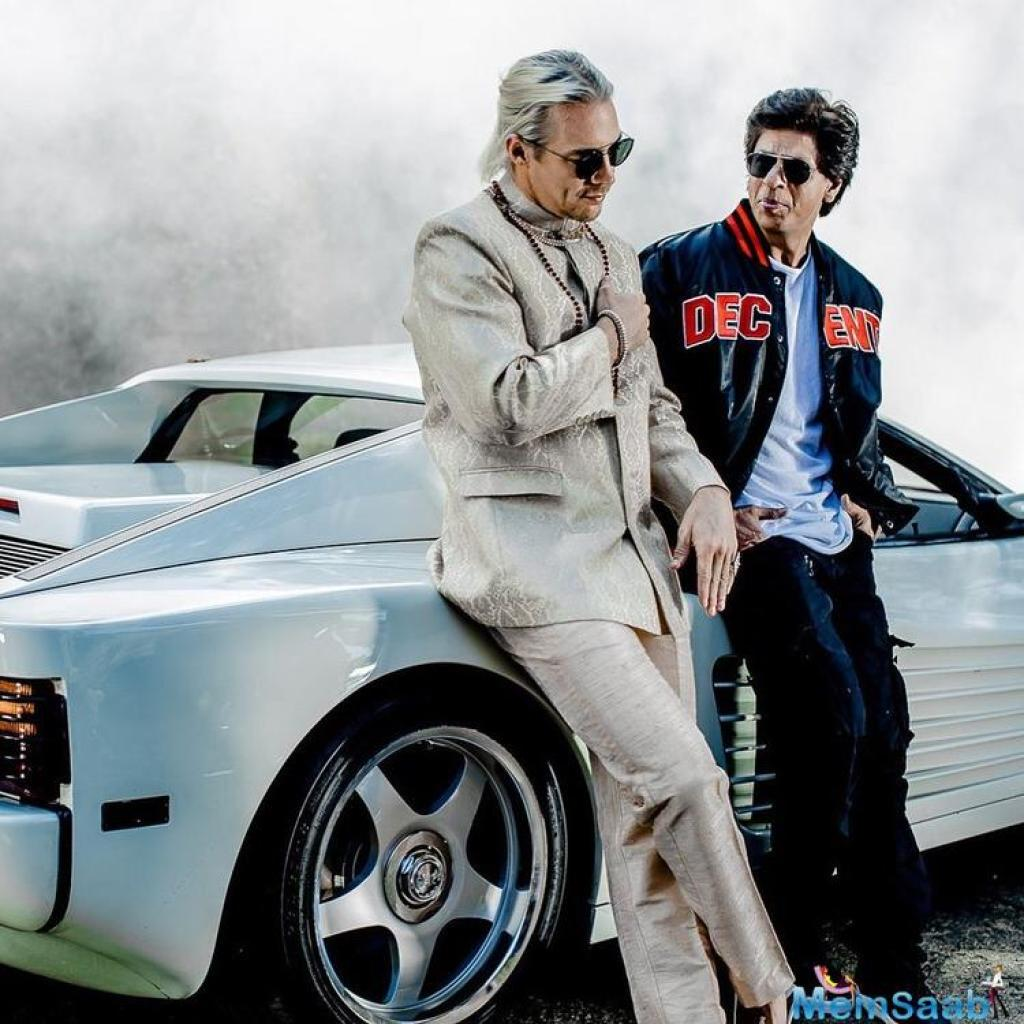 On Sunday, Shah Rukh took to social media to share a picture of Diplo and him.