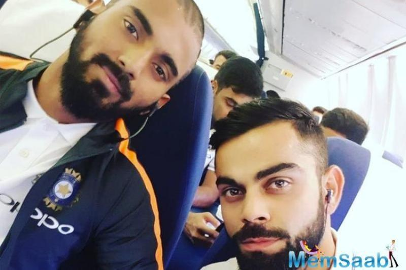 Rahul had to stay back in Colombo for observation because of high fever even though the rest of the squad travelled South on Sunday.