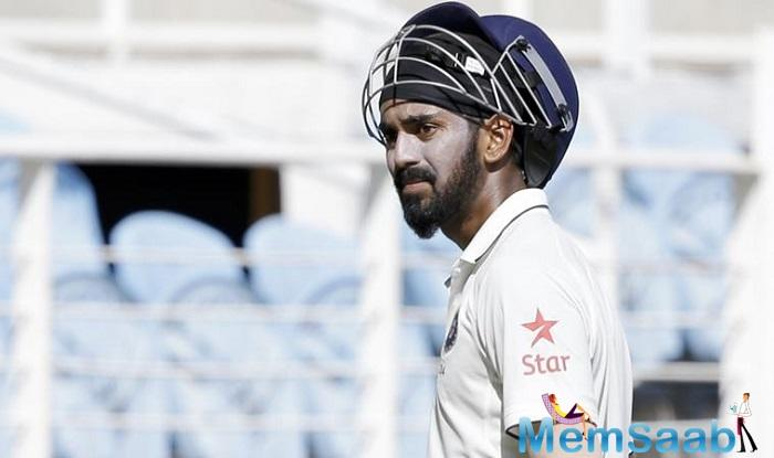 The right-handed opener had missed only one match against Australia out of India's long home season of 13 Tests and had later revealed he had been playing with a fractured wrist.
