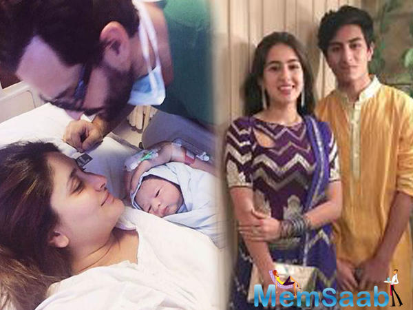 "He said, ""We had lengthy conversations on how Saif became a father at a very young age."
