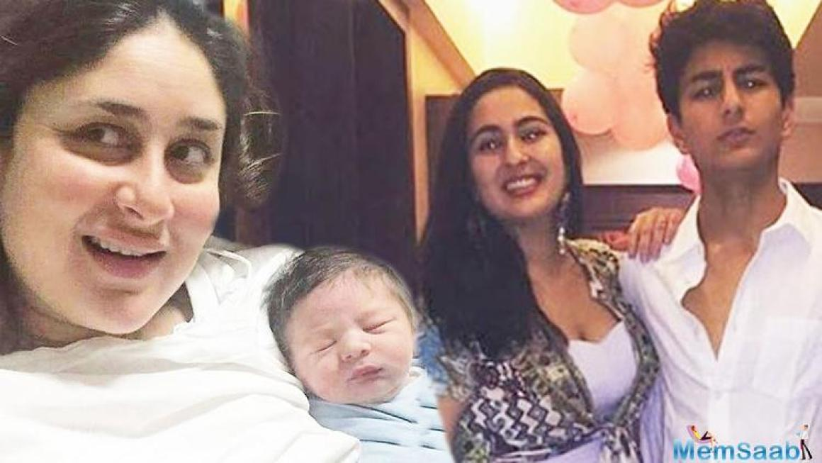 "Raja says, Taimur has helped Saif grow closer to Sara and Ibrahim. ""I think Saif's understanding of his relationship with Sara and Ibrahim has definitely helped explore his relationship with his screen son in Chef."""