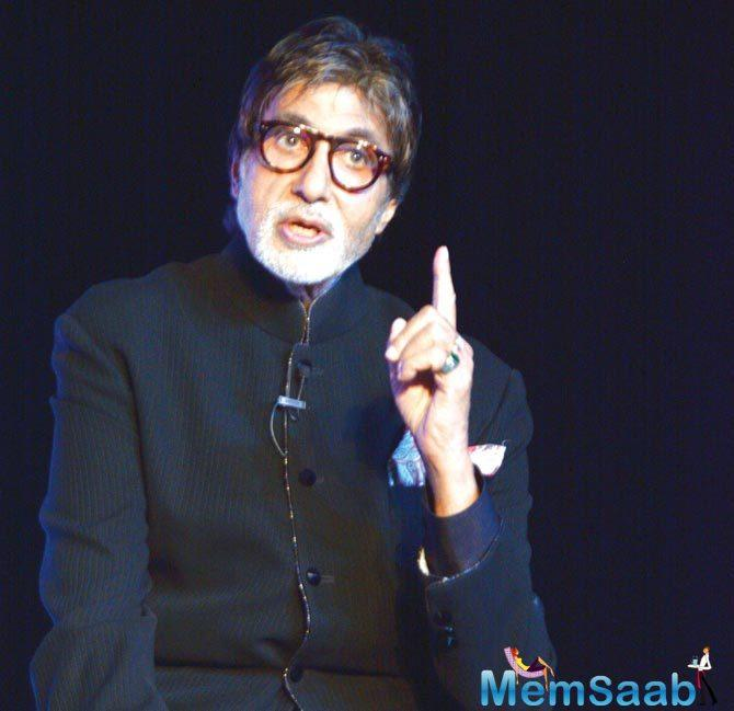 Amitabh Bachchan, love of millions, who always like to involve in social work, has put his hand in another noble work.