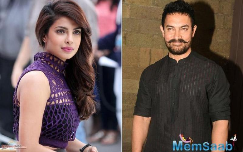 Priyanka was to essay Aamir's wife's character in the biopic. Well, both, the actors will have to wait a little longer for this fabulous collaboration to be executed on the celluloid.