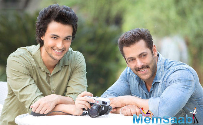On Thursday, Salman took to his Twitter account to announce Aayush's film's title.