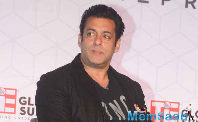 During the Global TiE Summit event, Salman said,