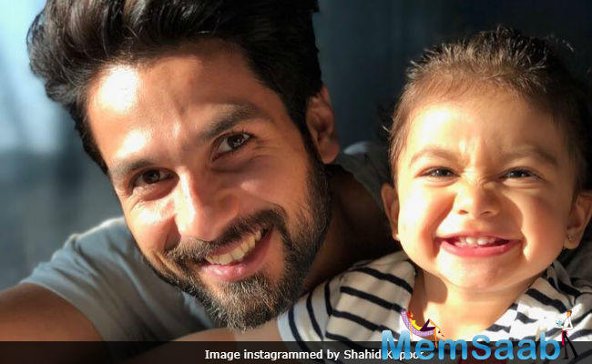 At various instances, both Shahid Kapoor and wife Mira Rajput have objected their baby girl Misha being followed by paparazzi every time she steps out.