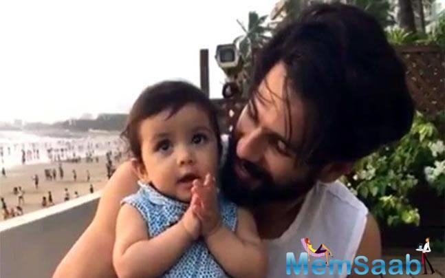 Shahid Kapoor is a doting father and the actor has time and again said that his life has entirely changed after the arrival of his daughter, Misha Kapoor.