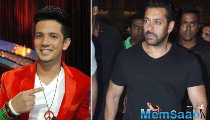 Choreographer Mudassar Khan, who worked with Salman Khan for the show Dus Ka Dum, says the superstar is fun to work with and his energy and passion are contagious.