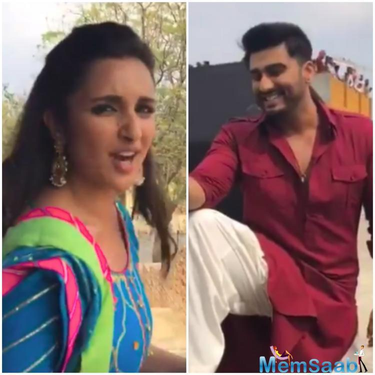 Arjun Kapoor and Parineeti Chopra earlier featured in Ishaqzaade, and Namaste England marks the second time that they have been paired.