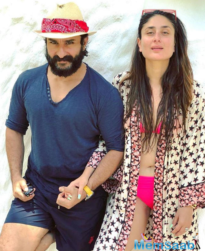 Snapshots of the family vacation in Maldives are breaking the Internet. Bebo looks scorching hot. She has been working out for a bikini body.