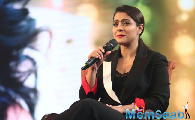 Kajol said while she is strict with her children, husband Ajay Devgn is the one who spoils them.