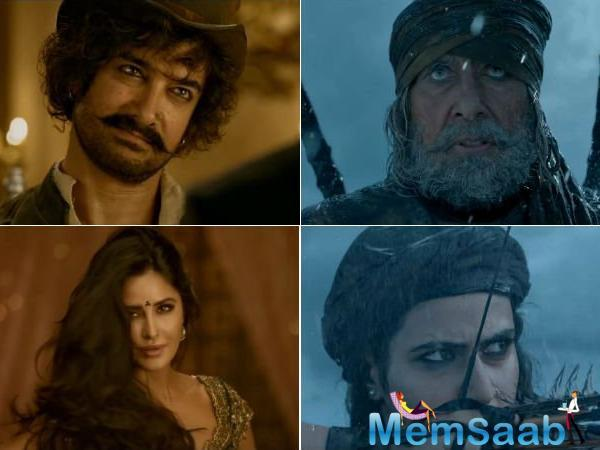 Amitabh Bachchan and Fatima Sana Shaikh are portraying the role of Khudabaksh and Zafira, where one is the commander of the battleship and later is the daredevil warrior.
