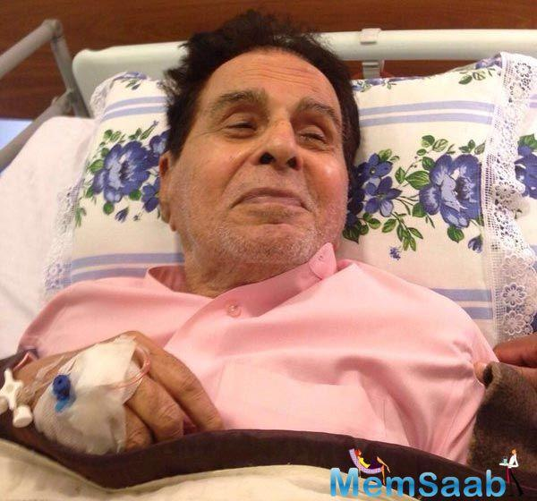 """A close friend of the couple confirms the sorry situation, saying, """"It is true, Yusuf sahab (Dilip Kumar) doesn't talk or recognize anyone anymore."""