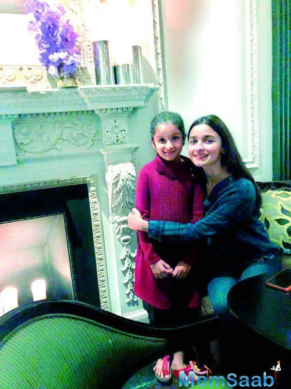 Alia was visiting Ranbir Kapoor, who's in New York for his father's medical treatment.