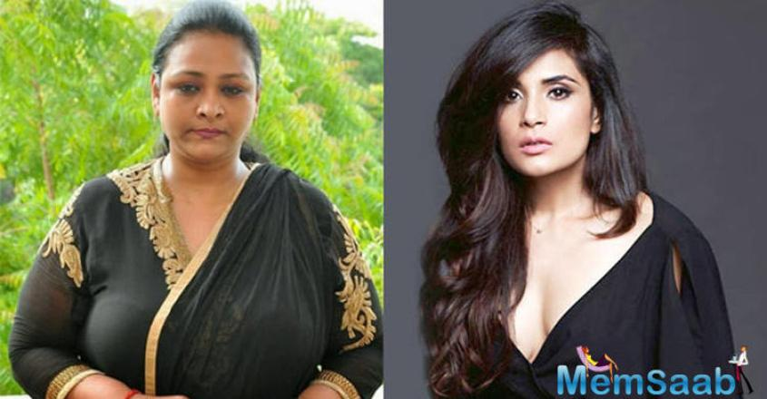 """Richa added saying, """"When I was offered this role I was very apprehensive but then I met Shakeela and I saw her gutsy attitude and it became easy."""
