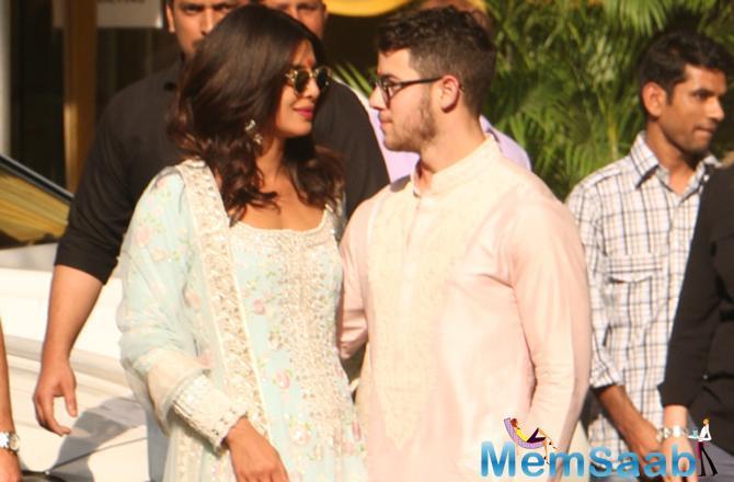 With just a few days away fom Priyanka Chopra and Nick Jonas' much-awaited wedding, the couple organised a puja (prayers) at PeeCee's Juhu residence.