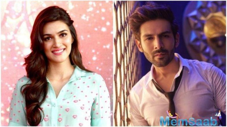 Kriti and Kartik have both proved themselves not only as actors but also commercially viable. Coincidentally, the 100 crore Sonu Ke Titu Ki Sweety was also released the same time this year.