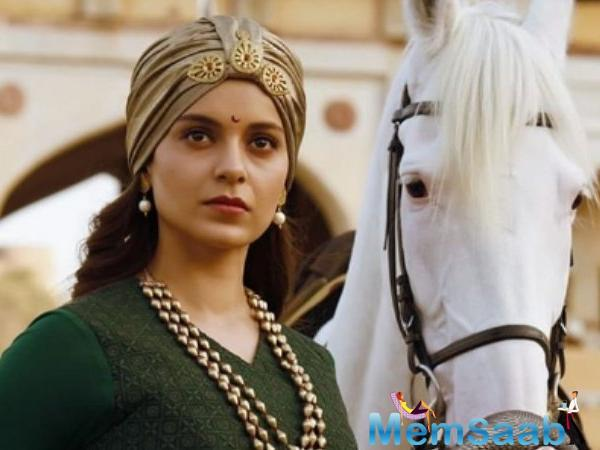 """Ask her how does she feel to act in an epic period movie like The Queen of Jhansi, pat she replies, """"It is very unfortunate that in 12 years of my career, I never got to work in a film like this."""