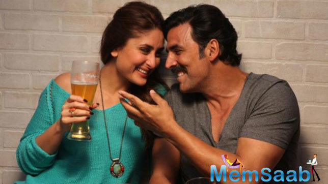 Good News has been in the news for a long time, but finally Akshay and Kareena have begun shooting for the film.