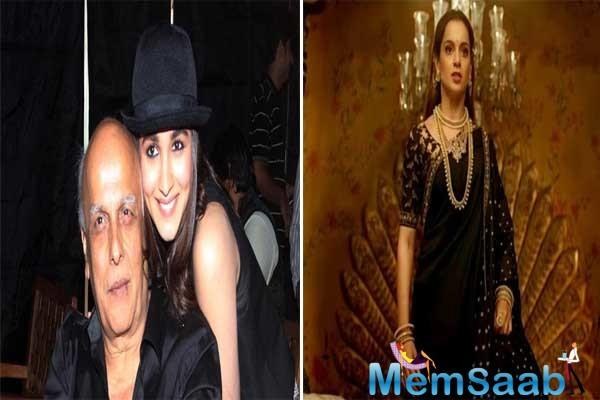 While that surely got a lot of attention from everyone, recently, Mahesh Bhatt also reacted to the same.