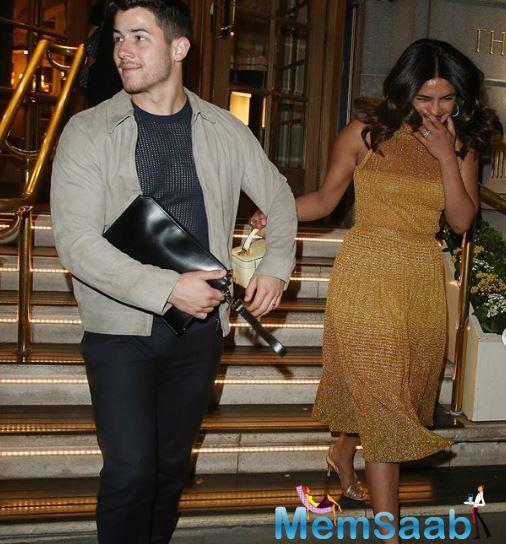Priyanka Chopra and her hubby Nick Jonas had been enjoying a splendid time together at Joe Jonas and Sophie Turner's wedding, after which the couple took off for an extended vacation.