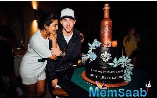 Priyanka Chopra and Nick Jonas celebrated the latter's 27th birthday with much grandeur!