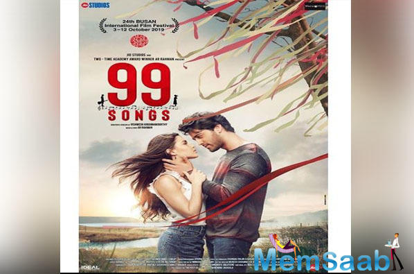 Talking about the film, the film is directed by Vishwesh Krishnamoorthy, 99 Songs is a sensual story about art and self-discovery of a struggling singer who wants to be a successful music composer.