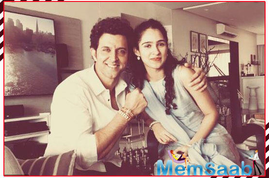 For Hrithik, Pashmina is family and a dear younger sister. He celebrates Raksha Bandhan with her.