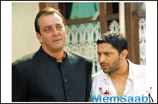 Ever since the duo starred in the film, the fans started hailing Munna Bhai and Circuit's Jodi and their funny banter.
