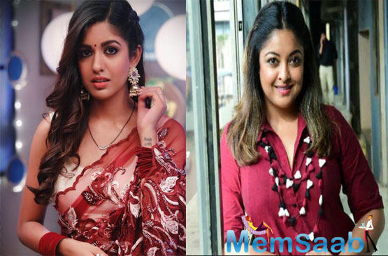 Tanushree Dutta was recently spotted at the set of Bepanah Pyaar, the TV show featuring her younger sister Ishita Dutta.