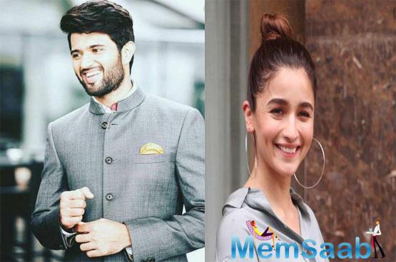 Workwise, Vijay is working on Kranti Madhav's World Famous Lover. On the other hand, Alia is shooting for Ayan Mukerji's Brahmastra and Mahesh Bhatt's Sadak 2.