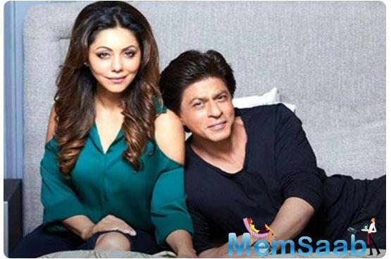 Gauri Khan suggests an alternative career option to SRK.