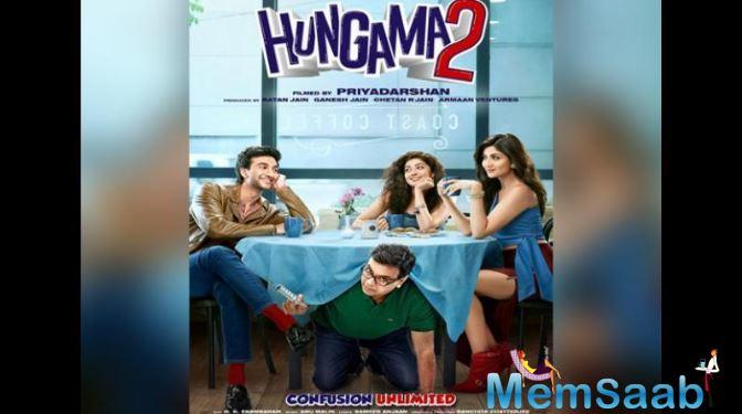 Film critic and movie trade analyst Taran Adarsh shared the poster on Twitter that features Meezaan Jaffrey, Pranitha Subhash, Shilpa Shetty and Paresh Rawal.
